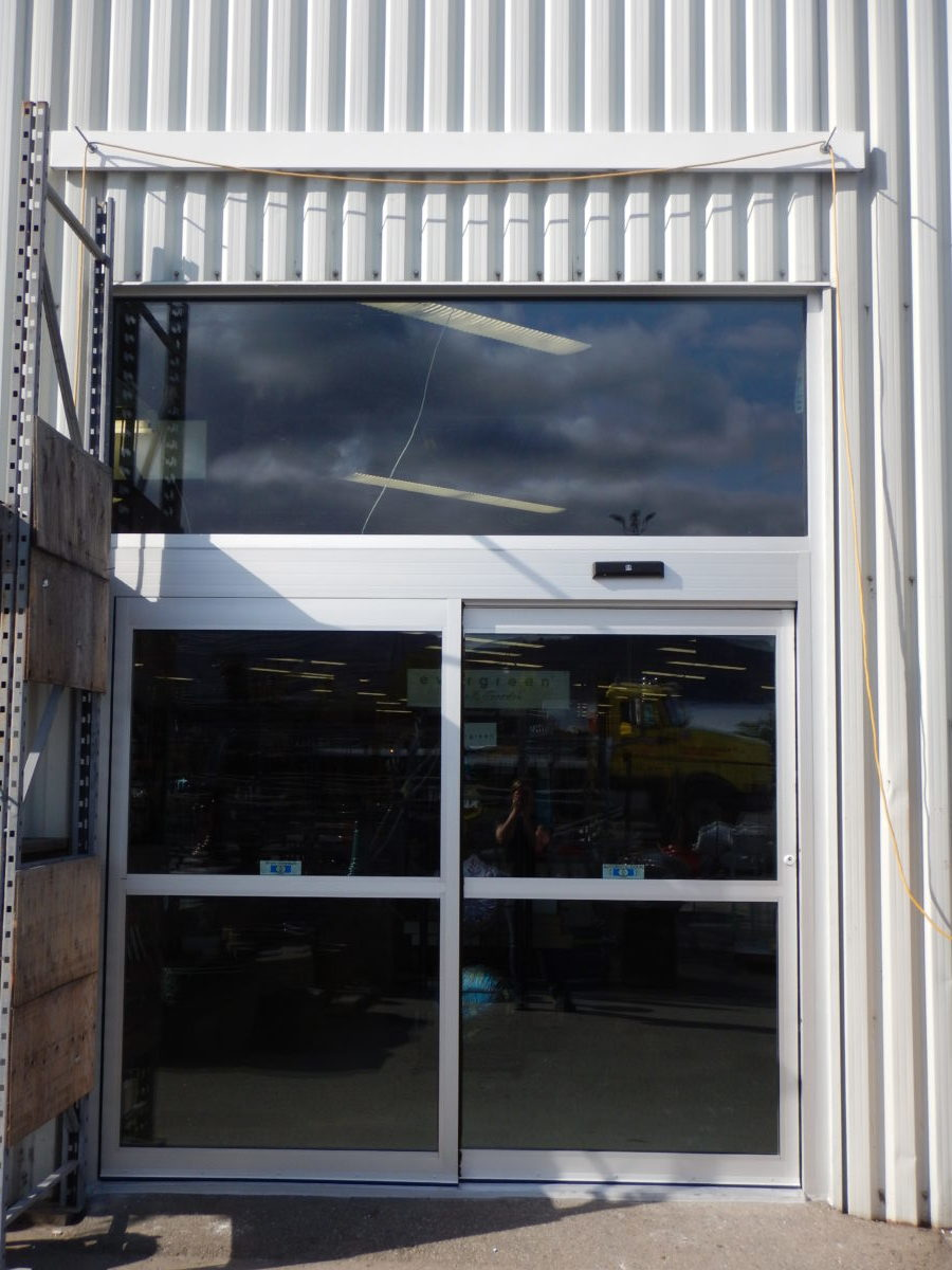 commercial aluminum sliding doors