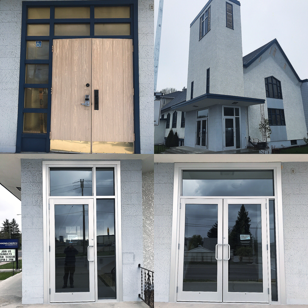 Entrance retrofit