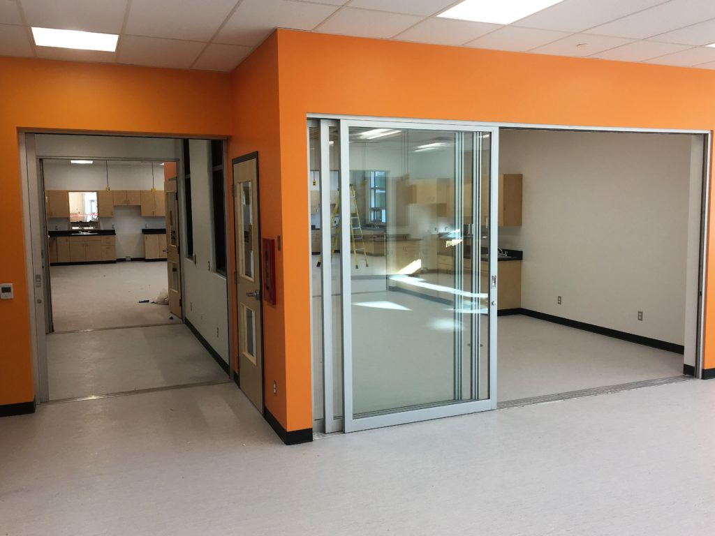 stackable commercial doors