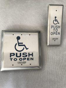 Handicap Door button