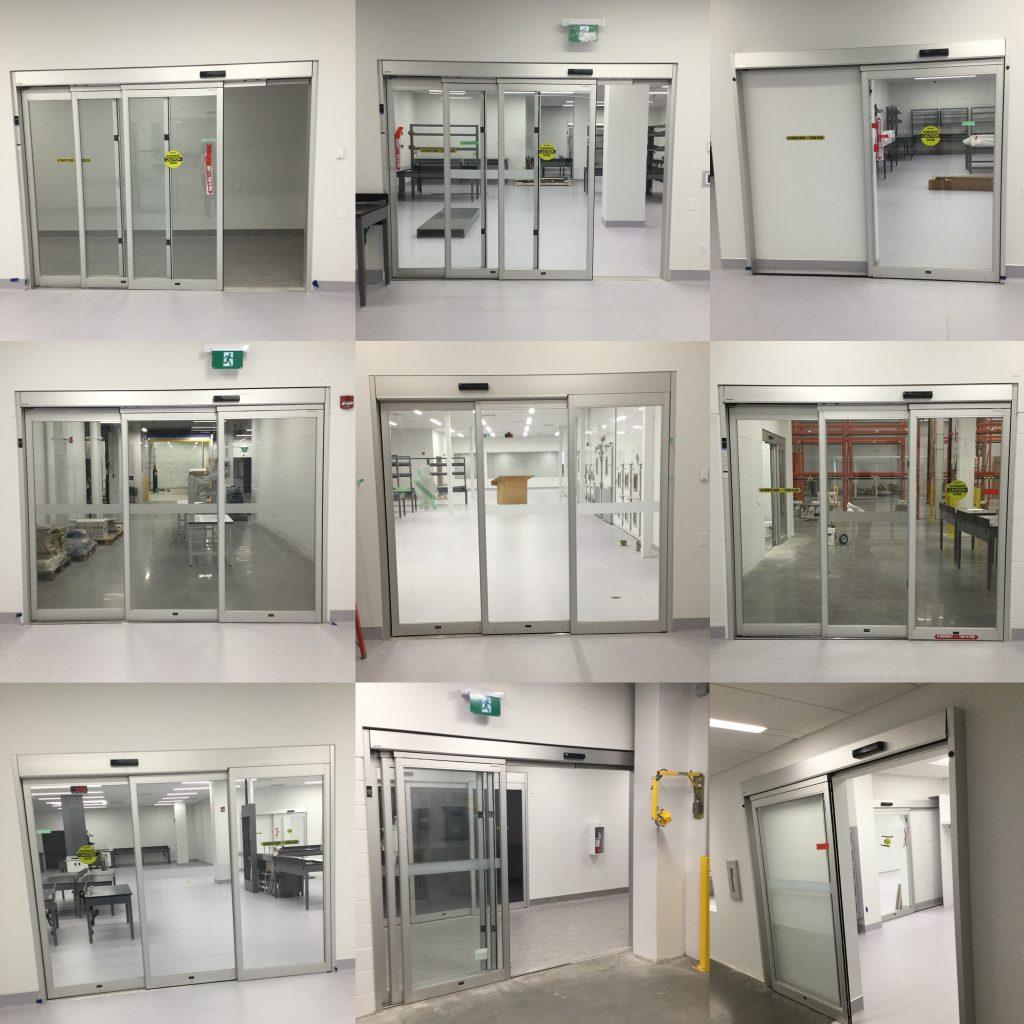T67 Besam Automatic Sliding Door Calgary Lab Doors